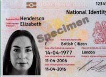 carte d identité anglaise Il n'y aura pas de carte d'identité nationale au Royaume Uni